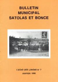 Bulletin municipal Satolas-et-Bonce 1990