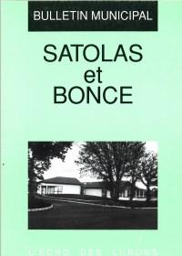 Bulletin municipal Satolas-et-Bonce 1992