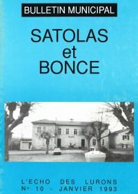 Bulletin municipal Satolas-et-Bonce 1993