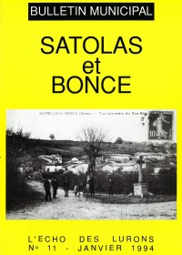 Bulletin municipal Satolas-et-Bonce 1994