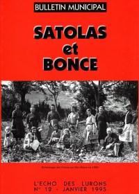 Bulletin municipal Satolas-et-Bonce 1995