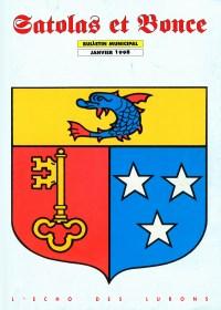 Bulletin municipal Satolas-et-Bonce 1998