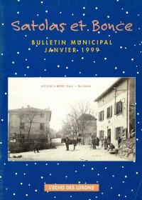Bulletin municipal Satolas-et-Bonce 1999