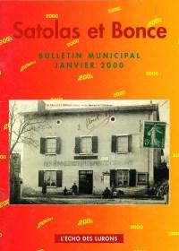 Bulletin municipal Satolas-et-Bonce 2000