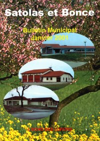 Bulletin municipal Satolas-et-Bonce 2001