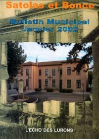 Bulletin municipal Satolas-et-Bonce 2002