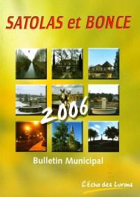 Bulletin municipal Satolas-et-Bonce 2006