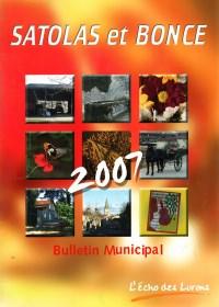 Bulletin municipal Satolas-et-Bonce 2007
