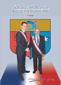 Bulletin municipal Satolas-et-Bonce 2015