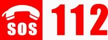 Logo 112 numéro d'urgence européen
