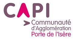 Logo CAPI communauté agglomération porte de l'Isère