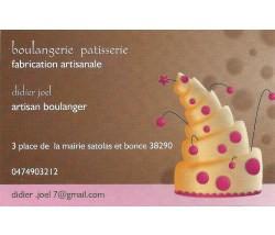 Boulangerie patisserie Didier Joël