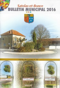 Bulletin municipal Satolas-et-Bonce 2016