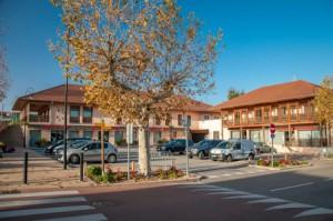 Centre village Satolas-et-Bonce