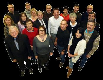 Equipe municipale Satolas-et-Bonce