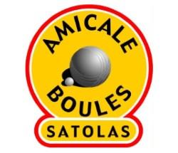 Logo association Amicale Boules Satolas-et-Bonce