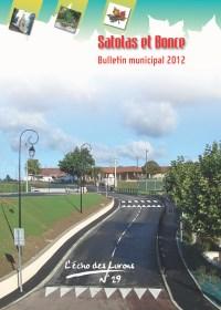 Bulletin municipal Satolas-et-Bonce 2012
