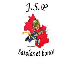 Logo association Jeunes Sapeurs Pompiers Satolas-et-Bonce