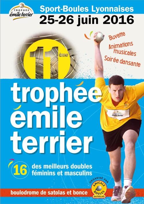 Association Amicale Boules Trophée Emile Terrier juin 2016 Satolas-et-Bonce