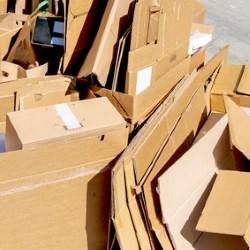 Déchèterie cartons Satolas-et-Bonce