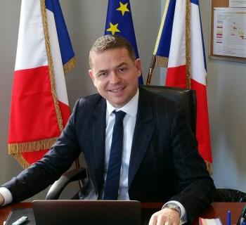 Damien Michallet maire de Satolas-et-Bonce