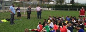 Évènement stage avril 2016 Football Club Colombier Satolas-et-Bonce