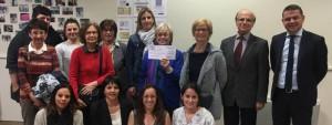 Association Satolas en Forme remise Chèque Satolas pour Elles mars 2016