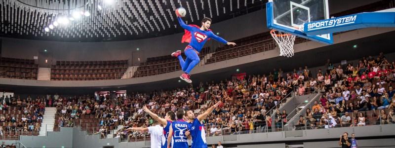 Show Crazy Dunkers mai 2016 association Basket Club Satolas-et-Bonce