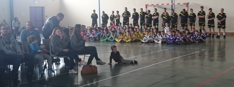 Stage foot association FCCS Satolas-et-Bonce avril 2016