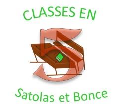 Logo association Classe en 5 Satolas-et-Bonce