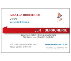 JLR Serrurerie