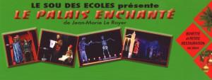 Le Sou des Ecoles présente le Palais Enchanté