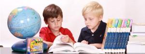 Enfants à l'école primaire