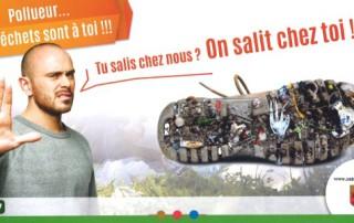 Pollueur les déchets sont à toi