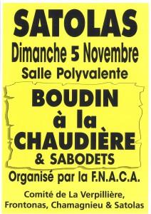 Poster boudins et sabodets FNACA