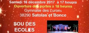 Sous des Ecoles Noël 2017