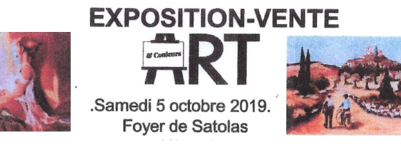 Exposition peinture 5 octobre 2019