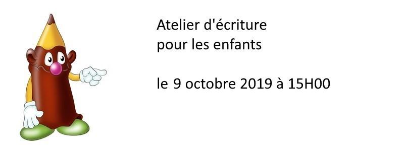 atelier-ecriture-pour-enfants-le-9-octobre-2019